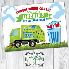 Garbage Truck Birthday Invitation Trash Smash Mash Crash Red Garbage Truck Birthday Party Tableware Kit For 16 Guests Our Forever House Sneak Peek Trash Crazy Wonderful Fast Lane Light And Sound Green Toysrus Cake Mold Liviroom Decors Cakes For Boy Mama Teacher Good Bags Seaworld Mommy Truck Birthday Cake Goo Ideas Pinterest Ice Cream Fondant Garbage Made Out Of Cboard At My Sons