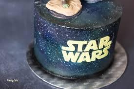 gâteau wars effet galaxie à l aérographe