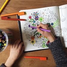 Secret Garden Relaxing Color Book