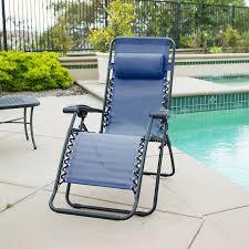 Zero Gravity Reclining Outdoor Lounge Chair