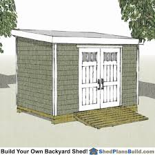 8x12 Storage Shed Blueprints by 17 Shed Plans 8x12 Lean To Storage Shed Plans 6 X 16 Modern