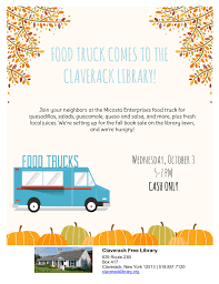 Food Truck At The Library! At Claverack Public Library A New Food Truck Is Wingn It Midtown Lunch Fding In The Trucks 101 How To Start A Mobile Business Links The Happy 5th Birthday Treats Edition Build Yourself Simple Guide In Buffalo Ny Inspirational Wandering Nyc Your Favorite Jacksonville Finder Best Serving Americas Streets Qsr Magazine 50 Owners Speak Out What I Wish Id Known Before Would Serve Devour Cooking Channel 7 Smart Places Find For Sale Hit Up That Gps Tracking For Irrspeccom