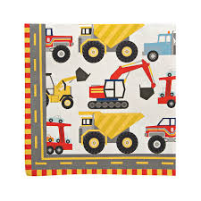 100 Trucks Paper Big Rig Napkins Truck Napkins Construction Napkins Etsy