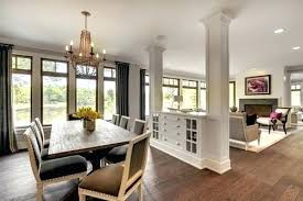 Dining Room Divider Living Dividers Ideas For Open Spaces Partition