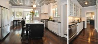 beautiful kitchen remodel with faux tin tile ceilings decorative