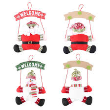 ❀READY❀Party Claus Hanging / Door Christmas Display Festival Santa