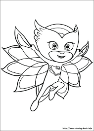 Pj Masks Coloring Pages Games Picture Crafts Mask And Masking