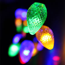 cone battery operated led string lights torchstar