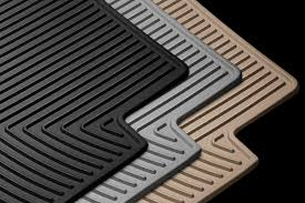 Laser Measured All Weather Floor Mats by Weathertech Ford Escape 2017 All Weather Floor Mats