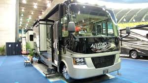2012 Allegro 34TGA MotorHome Exterior And Interior At Montreal Recreational Vehicle Show