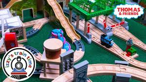 thomas and friends wackmaster and wooden track fun toy trains