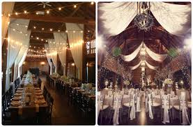 TOP 10 Barn Wedding Decor Ideas Drapery