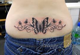 48 Butterfly Low Back Tattoo Tramp Stamp Pinned By Cindy Vermeulen Please Check
