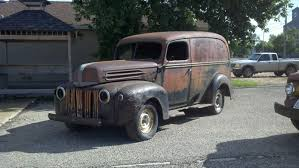 1942-46 Ford Panel Truck Van Delivery 42 43 44 45 46 47 1945 1946 ...