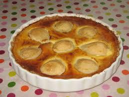tarte poire praliné pâte à tarte sans gluten ni oeuf lilo