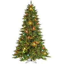 Pre Lit Christmas Tree Canada by C18 7 5 Ft Pre Lit Felicity Christmas Tree At Home At Home