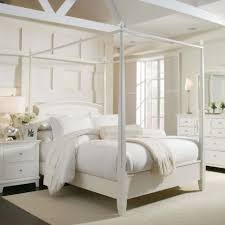 Canopy White Metal Bed Frame Queen Trends Today White Metal Bed
