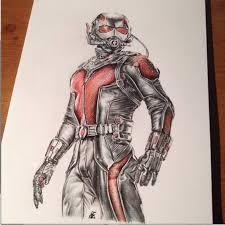 Saatchi Art Antman Fanart Drawing By Patrick Ryant