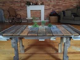 Alluring DIY Rustic Coffee Table With Diy Pallet Unique Furniture
