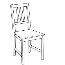 ikea stefan stuhl küchenstuhl stuhl stühle esszimmerstuhl
