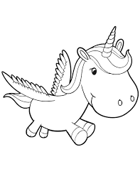 Good Coloring Page Unicorn 14 For Print With
