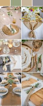 Wedding Table Decoration Ideas Rustic Images