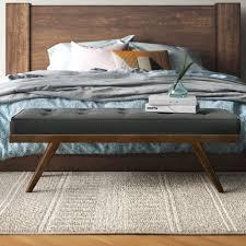 bedroom benches on sale now wayfair