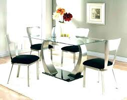Black Round Glass Dining Table Room Set Prices Price A