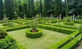 Image Tuscany Italy Villa Peyron Garden Nature Gardens Lawn Trees