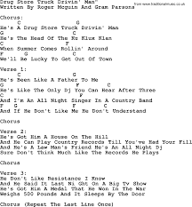 Joan Baez Song - Drug Store Truck Drivin Man, Lyrics And Chords On The Flipside November 2013 Mr Record Man Gram Parsons Lone Star Music Magazine Wanna Help Me With My School Project On The Brony Subculture The Byrds Best Of Greatest Hits Volume Ii Truck Drivin By Buck Owens Pandora Wigglepedia Fandom Powered Wikia Glen Campbell Driving Lyrics Genius Listen Free To Toby Keith Radio Iheartradio Nuthin Fancy Lynyrd Skynyrd Tribute Country Musictruck Manbuck And Chords Shound Rock Island Line Weavers Bob Wayne Mack