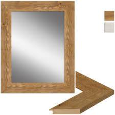 rechteckige deko spiegel aus eiche fürs esszimmer günstig