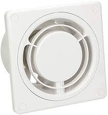 badlüfter ø 100 mm 10 cm lüfter ring weiß front ventilator