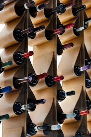 100 Wine Rack Hours Toronto A Leather Wall Doubles As Art In This Restaurant