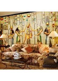 wandbild tapete ägyptische figuren große wandbilder