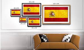 bild gerahmt spanien