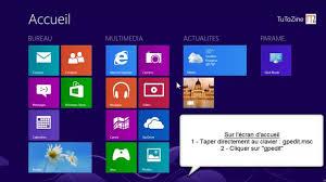 bureau windows 8 désactiver l écran de verrouillage de windows 8