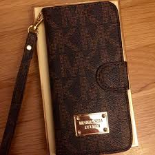 MK WALLET IPHONE 6s or plus case Fast shipping Michael Kors