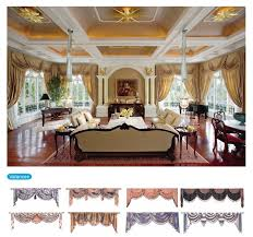 Fabric For Curtains Philippines by Traditional Living Room 100 Polyester Printed Fabric Curtains