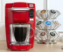 Keurig Coffee Sizes Maker New Single Serve K Cup Pod Portable Automatic Shut Off Red 3