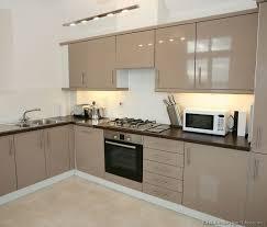 of Kitchens Modern Beige Kitchen Cabinets