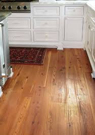 A Heart Pine Floor From Goodwin Includes Boards With The Repeating Cathedral Grain Characteristic