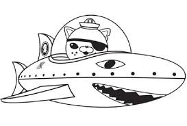 Octonauts Coloring Pages Photo