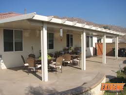 Patio Covers Las Vegas Nevada by Exterior Design Exciting Alumawood Patio Cover With Outdoor Tubs