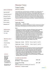 Call Center Supervisor Resume Elegant Sample Team Leader Yeniscale Of