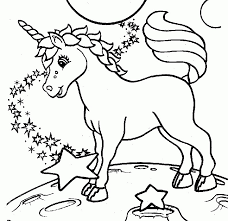Lisa Frank Coloring Pages Beautiful Kids Page Free Printable Unicorn Of 25