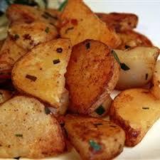 Bacon Salt Garlic Home Fries