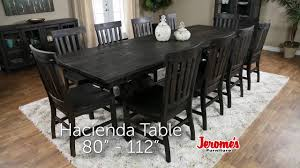 Jeromes Furniture Hacienda Dining Collection