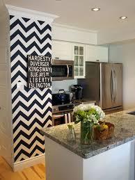 Love This Small Chevron Wall Paint Idea