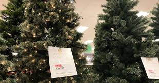 Target Over 40 Off Artificial Christmas Trees Hip2Save Inside Small