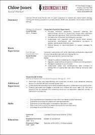 Download Social Work Resume Examples Templates Free Mmventuresco